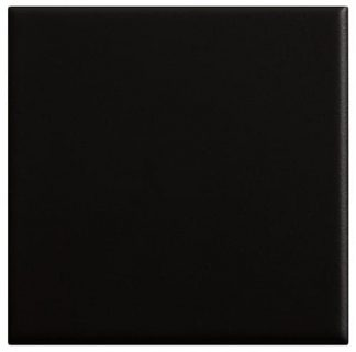 SUELO 20 X 20 LISO MATE COLOR NEGRO